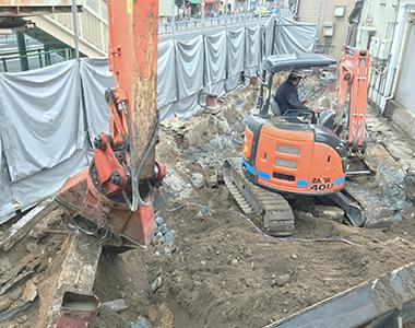 大阪をメインに大小様々な解体に対応画像