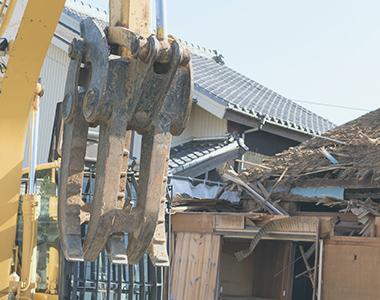 家屋の建て替えや空き家の取り壊し事画像